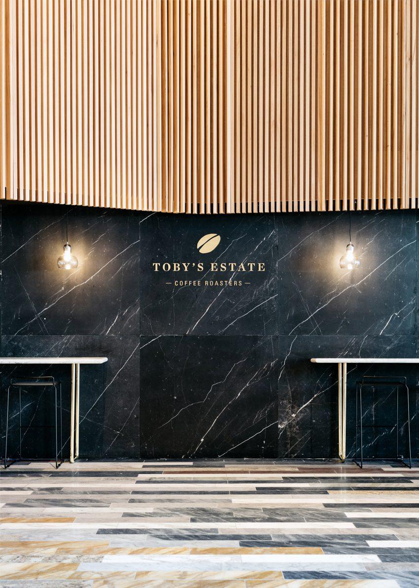 Toby's Estate café by Studio Tate