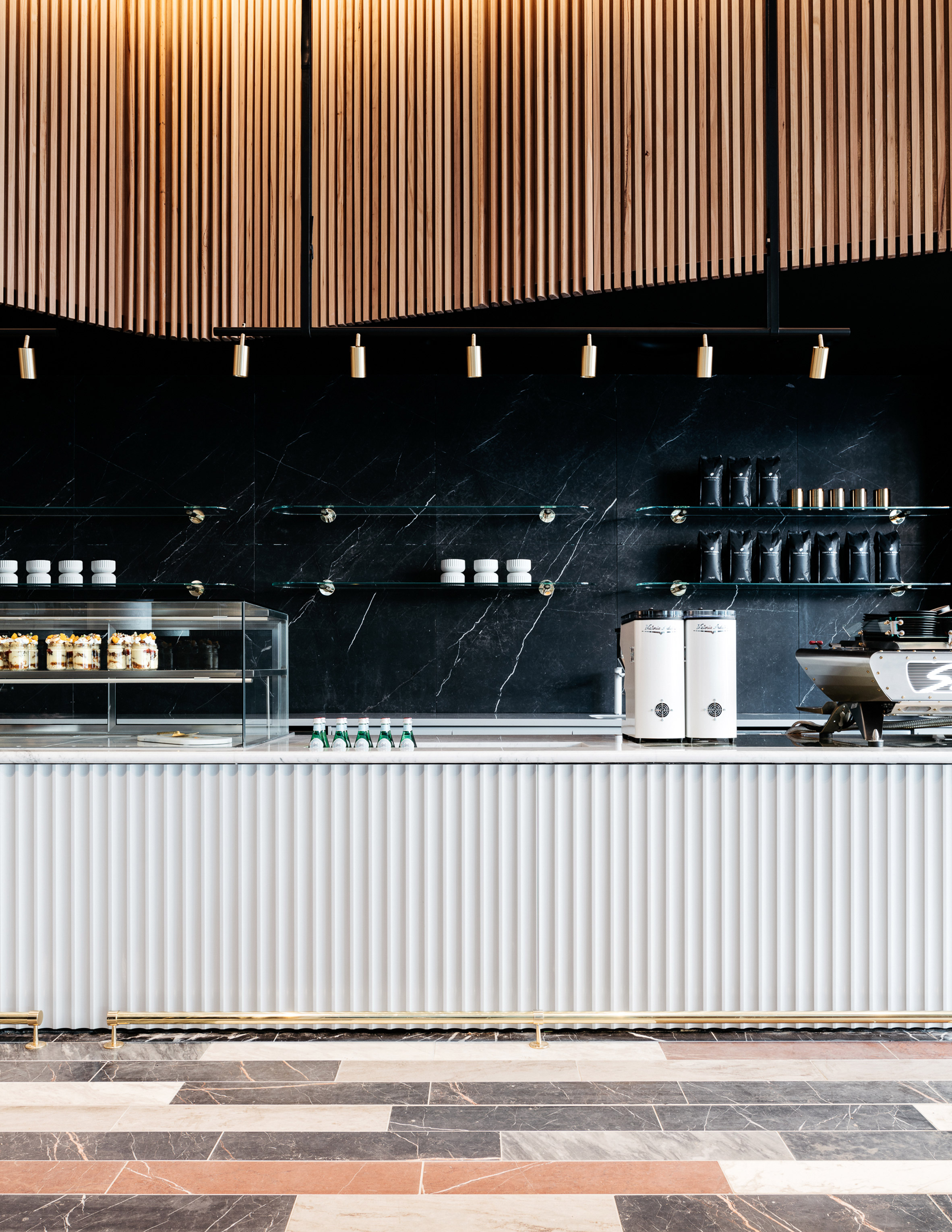 Studio Tate references old treasuries with coffee shop for Commonwealth Bank of Australia