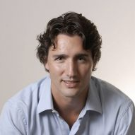 """Design and technology are changing the way we live"" says Justin Trudeau"