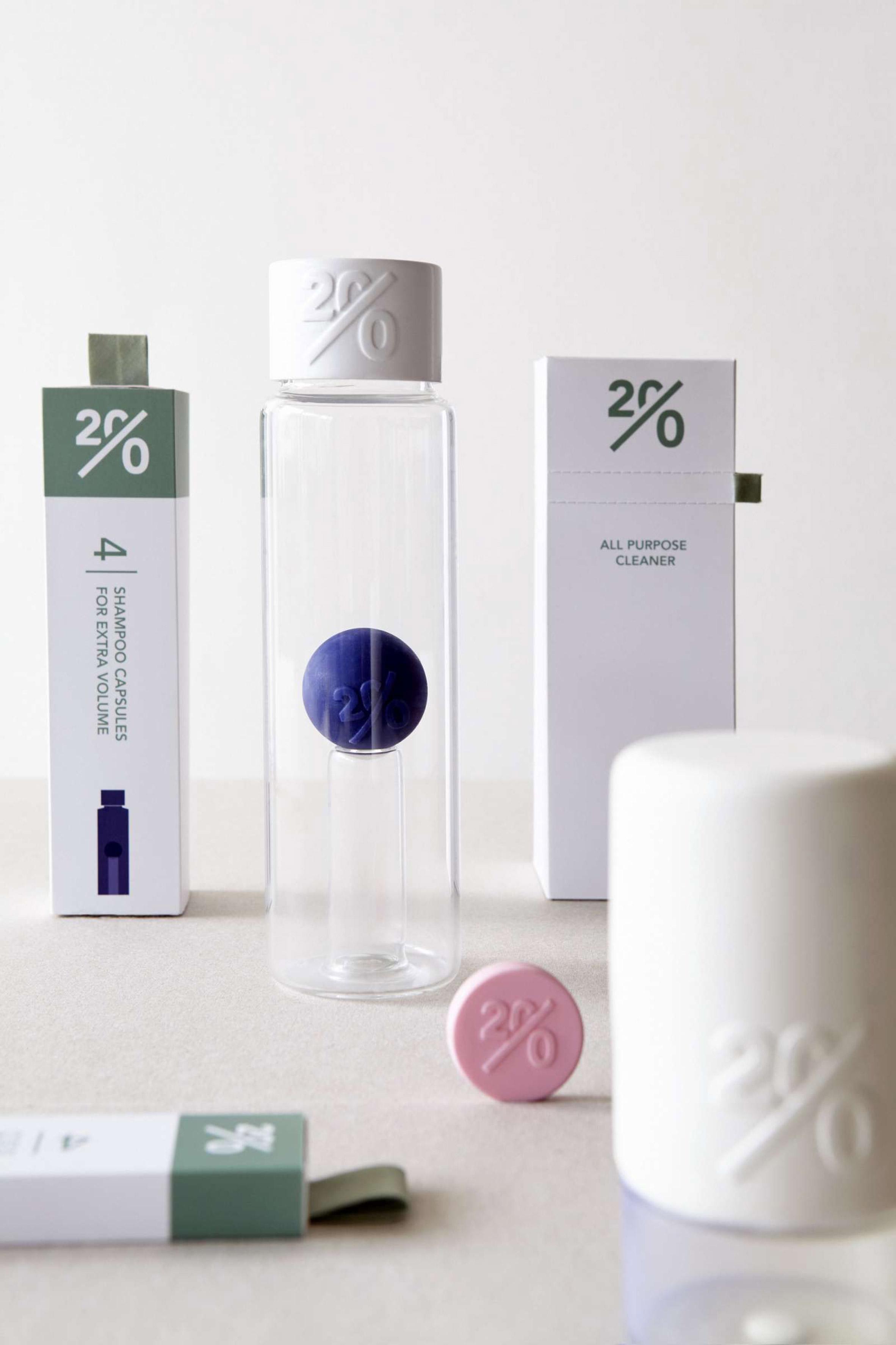 Mirjam de Bruijn turns household cleaning products into waterless capsules