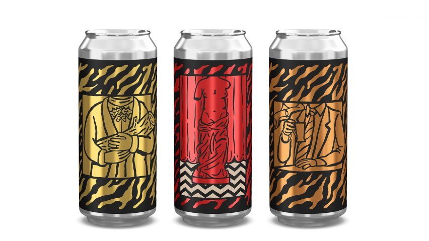 Twin Peaks beer for Mikkeller by Ben Kopp and Keith Shore