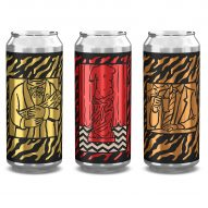David Lynch's Twin Peaks sketches inform minimal craft beer packaging