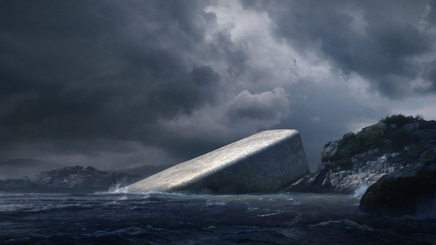 This insane underwater restaurant is being built in Norway