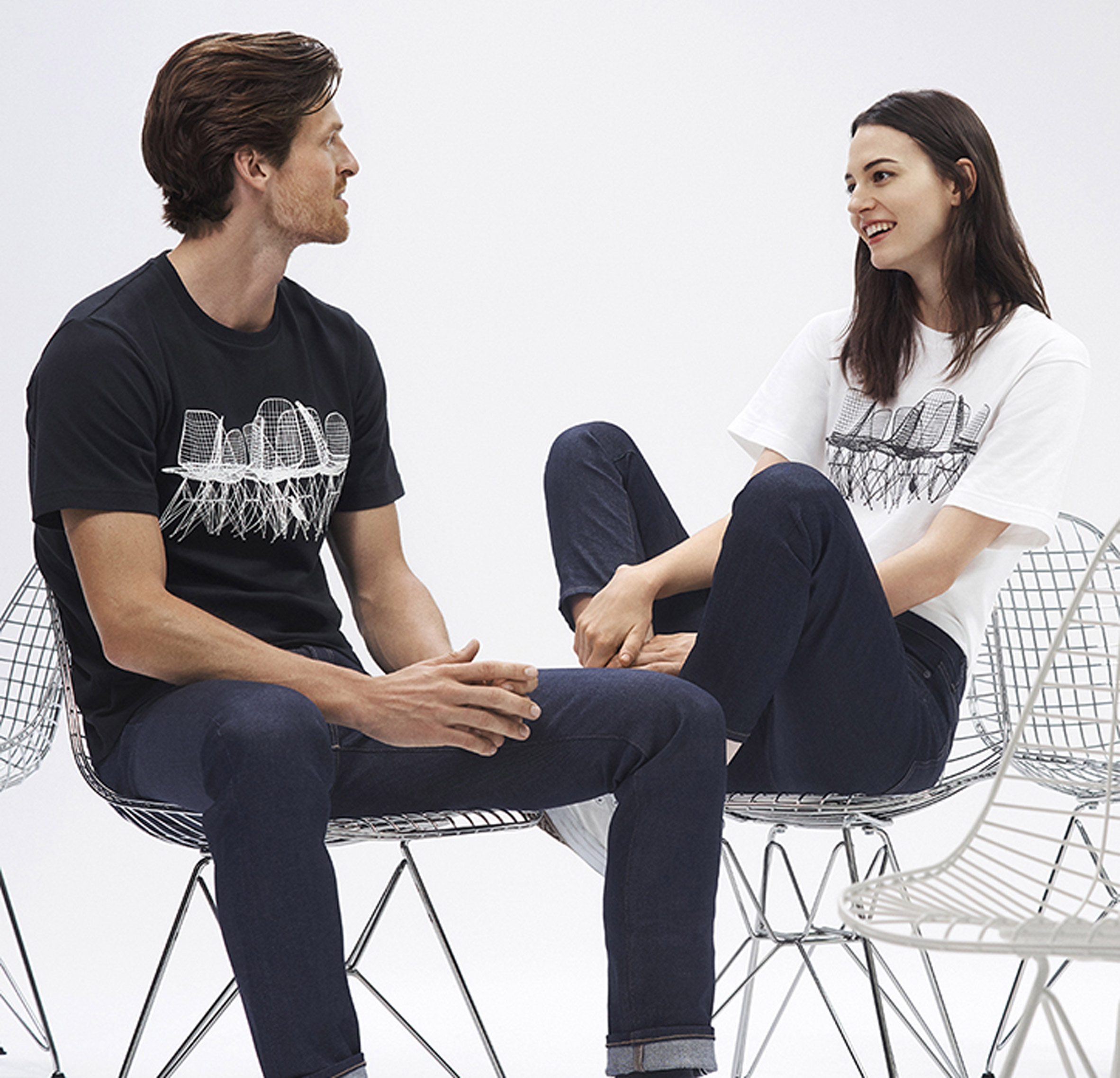 Uniqlo launches collection celebrating the careers of Ray and Charles Eames