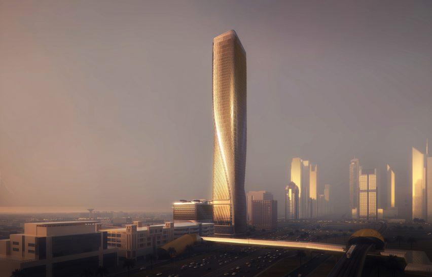 UNStudio Wasl Tower Dubai