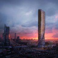 "UNStudio set to build Dubai tower with ""world's tallest ceramic facade"""