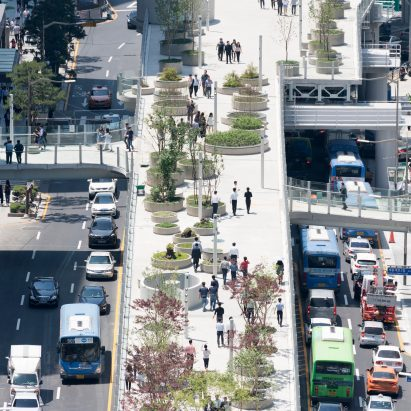 MVRDV transformed a former highway into a kilometre-long urban garden in Seoul