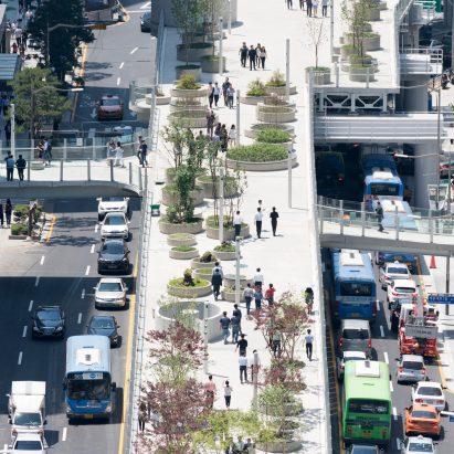 MVRDV transformed a former highway into a kilometre-long urban garden in Seoul