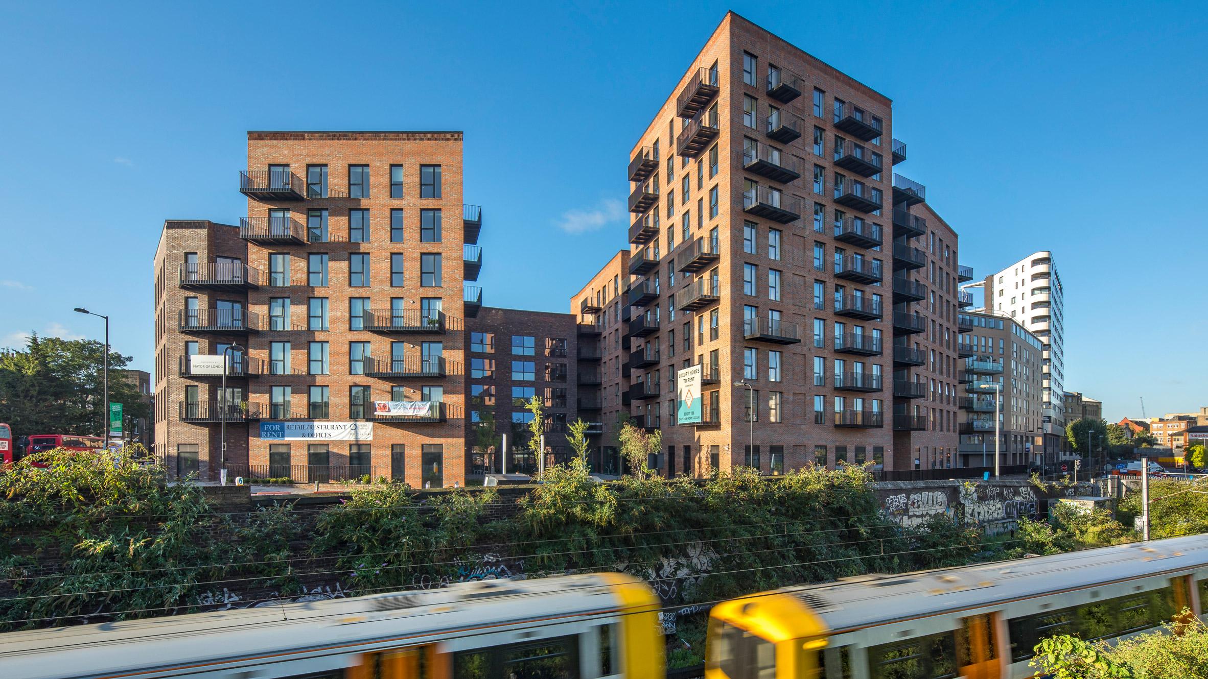 Waugh Thistleton Architects Dalston Work