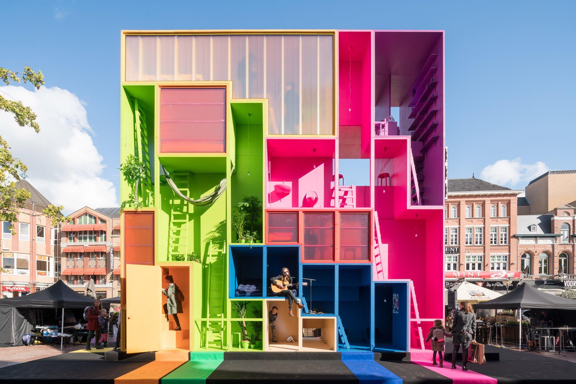 MVRDV presents a house you can reconfigure at Dutch Design Week