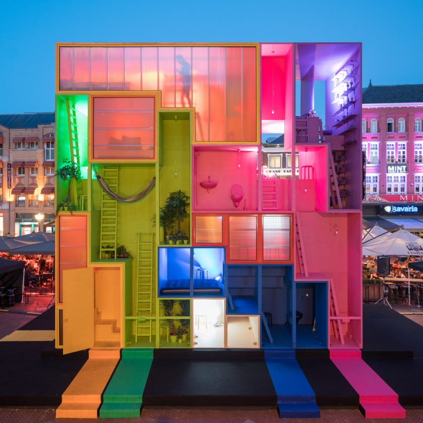 Mvrdv presents a house you can reconfigure at dutch design for City hotel design