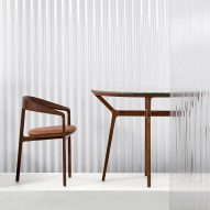 Tom Fereday creates furniture collection for Louis Vuitton store in Sydney