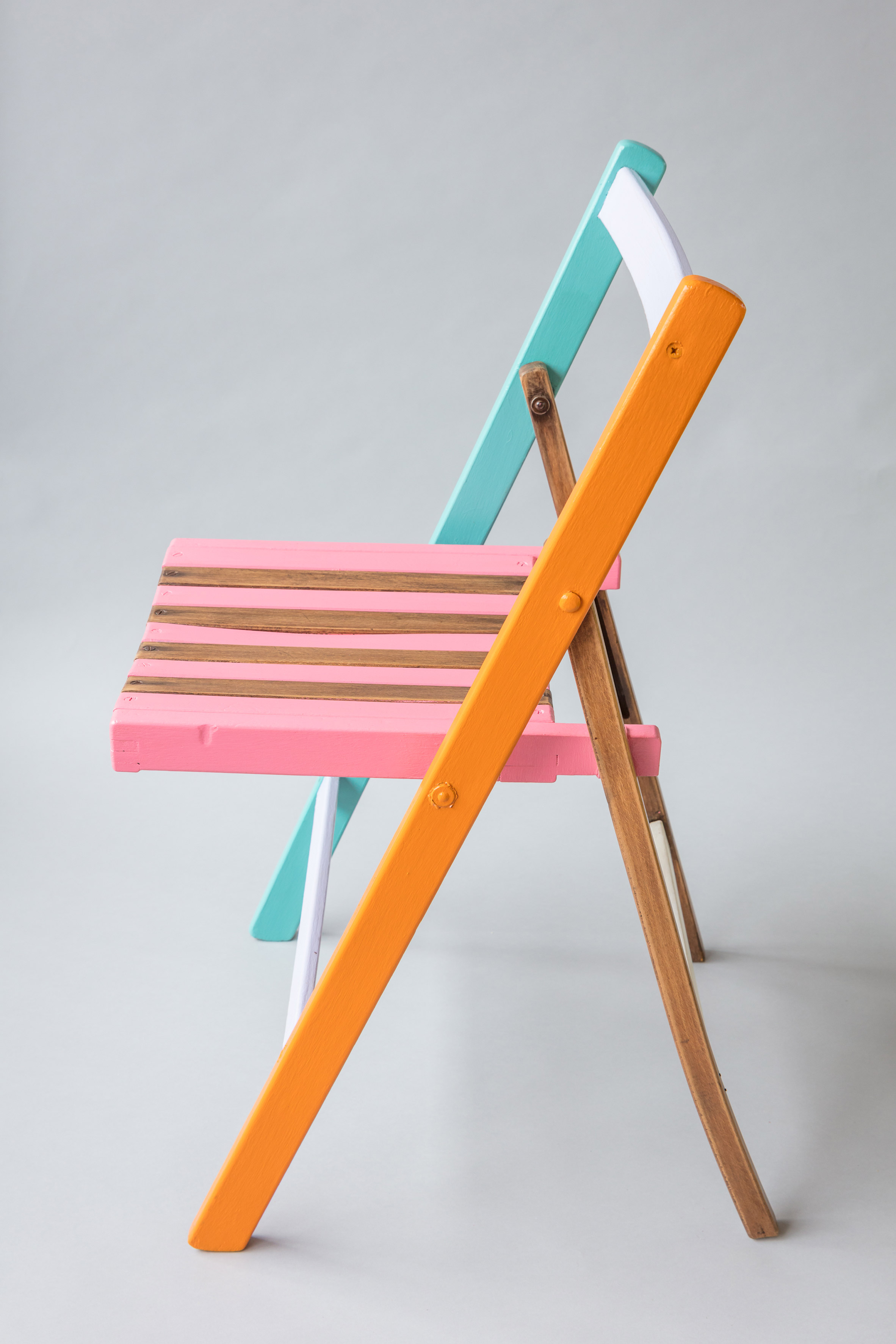 Yinka Ilori teams up with recovering addicts to create range of colourful chairs
