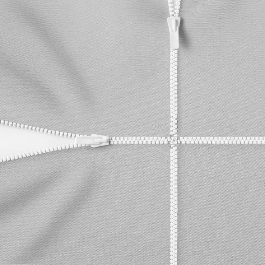 Nendo redesigns the zipper