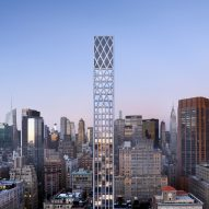 Morris Adjmi designs skyscraper with lancet windows for New York City