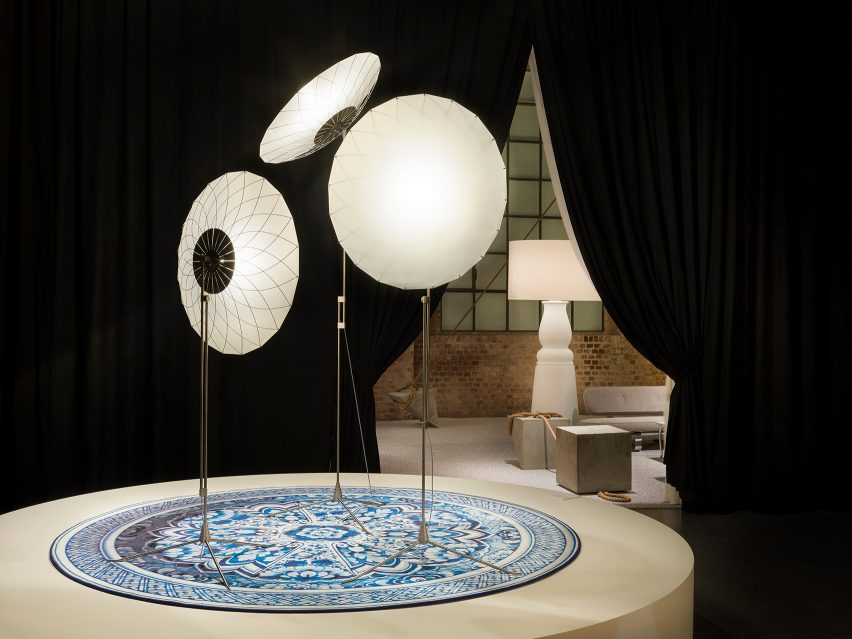 Filigree Floor Lamp by Rick Tegelaar for Moooi