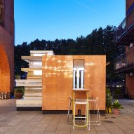 MINI Living Urban Cabin explores how future cities may merge public and private, says Sam Jacob