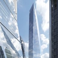 SOM designs tapering skyscraper that would dwarf neighbouring Cheesegrater