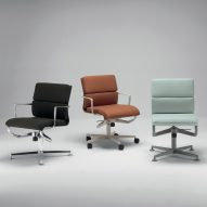 Alberto Meda reengineers Frame office chairs to make them more comfortable