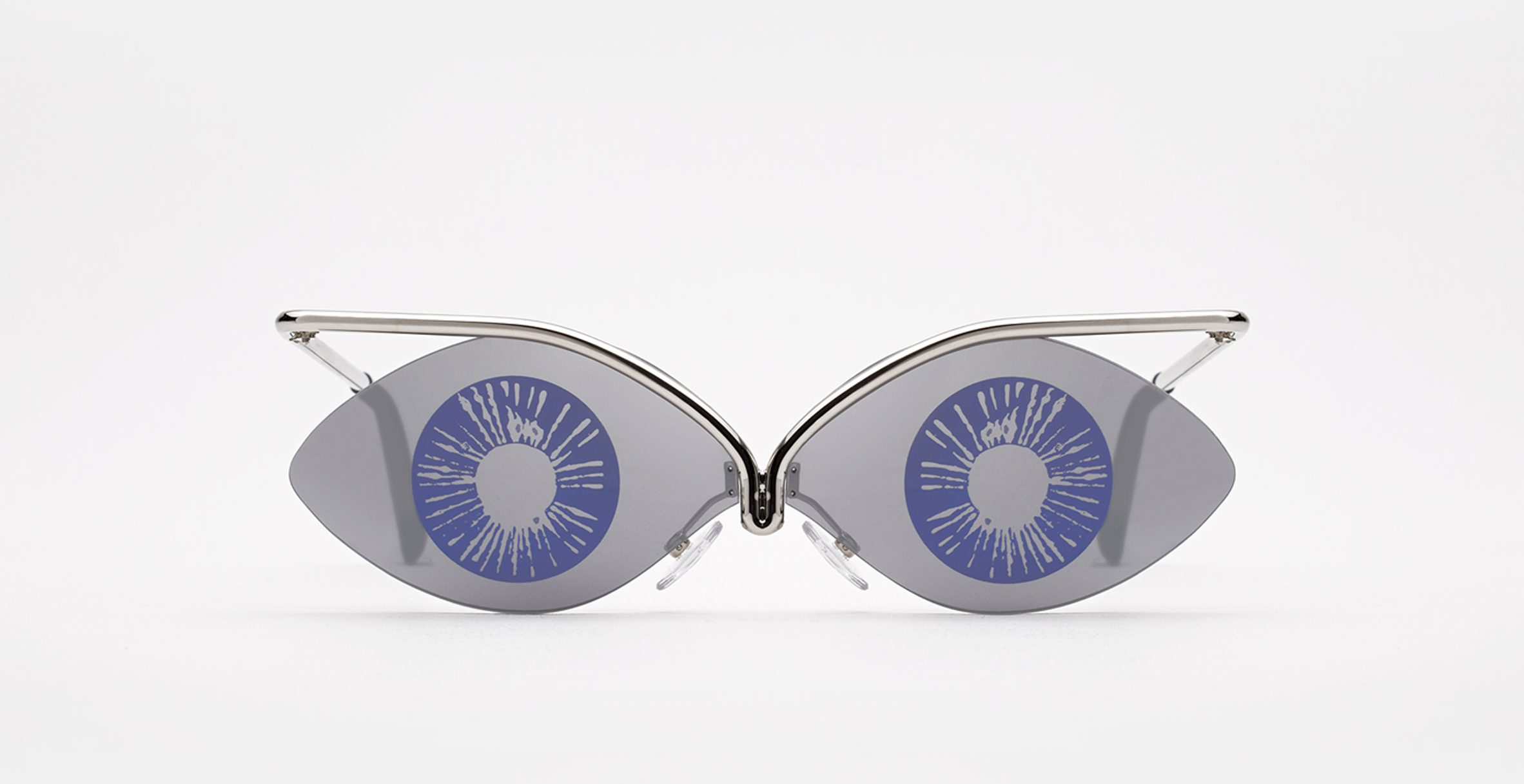 Andy Warhol-themed sunglasses reference the artist's early illustrations