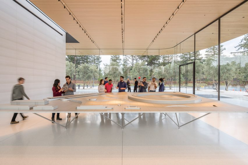 Foster + Partners' Apple Park Visitor Center now open in Cupertino, CA
