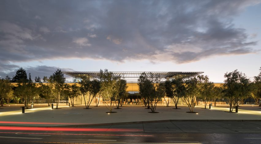 Apple Park Visitor Center by Foster + Partners