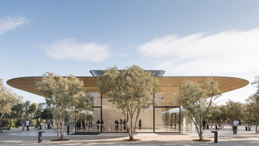Apple Opens Visitor Center at New Campus