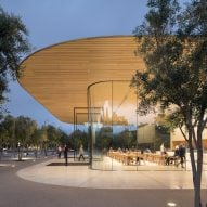 Foster + Partners' Apple Park Visitor Center opens to the public
