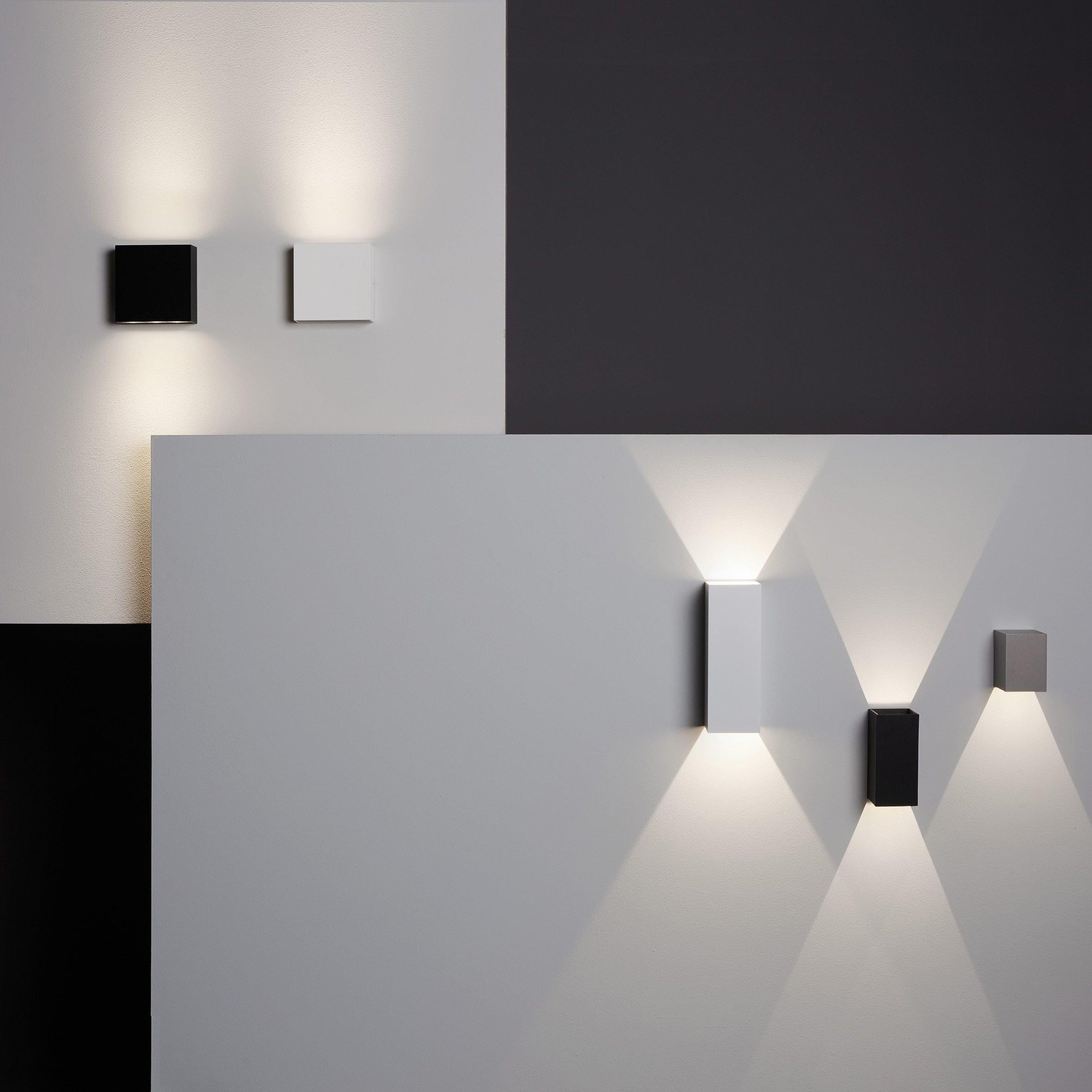 Astro's architectural lighting collection lets a building