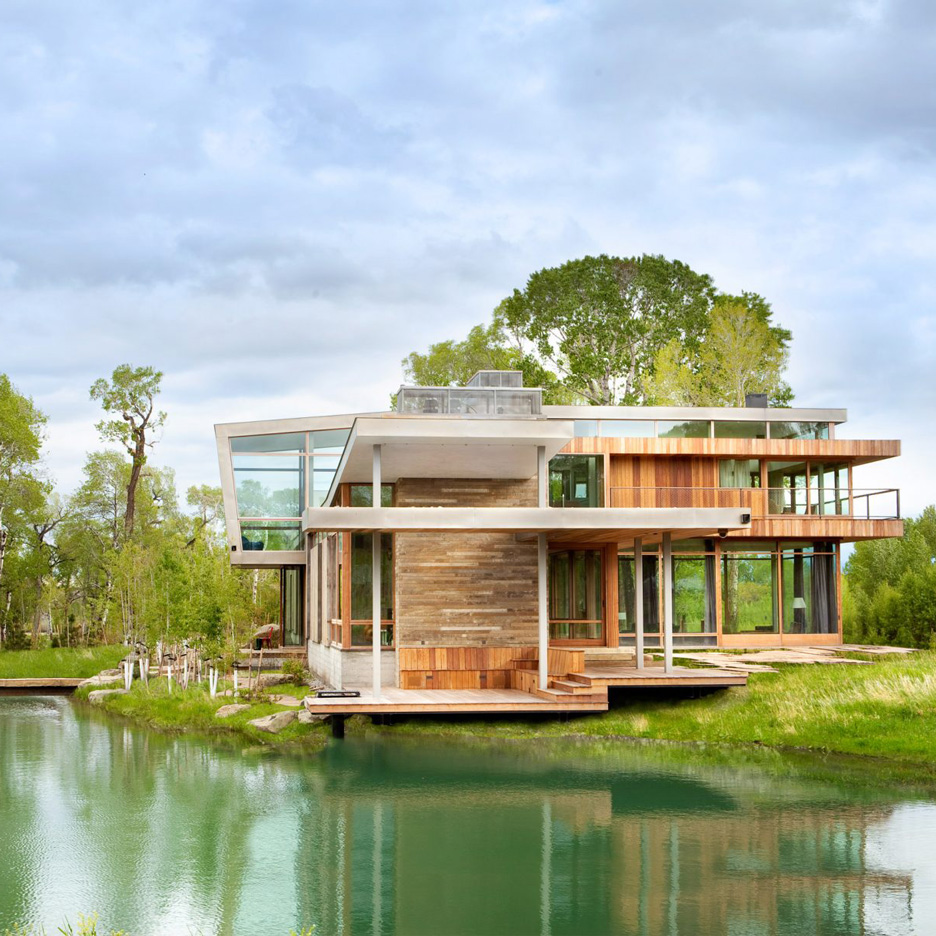 Watershed Lodge by HUUM