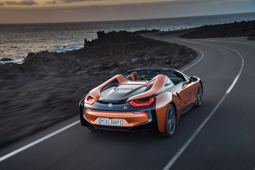 Bmw Unveils I8 Roadster At La Auto Show