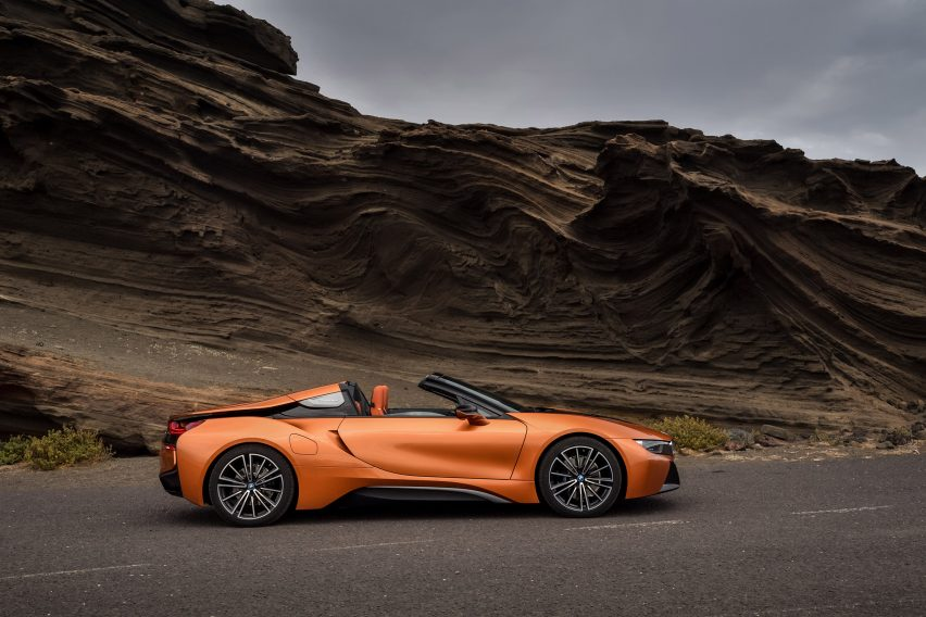 BMW I8 Roadster. The Unveiling Follows Rival Electric Car ...