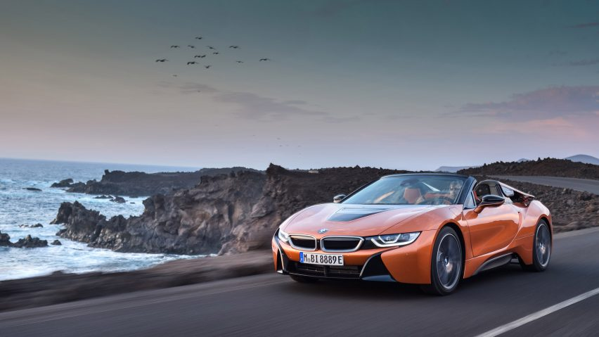 BMW i8 Roadster and Coupe debut in LA