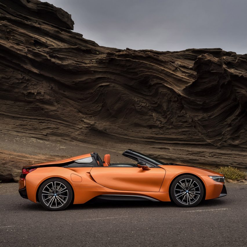 Leather Sectionals For Sale BMW Unveils I8 Roadster At LA
