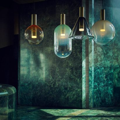 Bomma showcases glass-blowing techniques used to create its sculptural lighting pendants & Modern and contemporary lighting design | Dezeen magazine azcodes.com