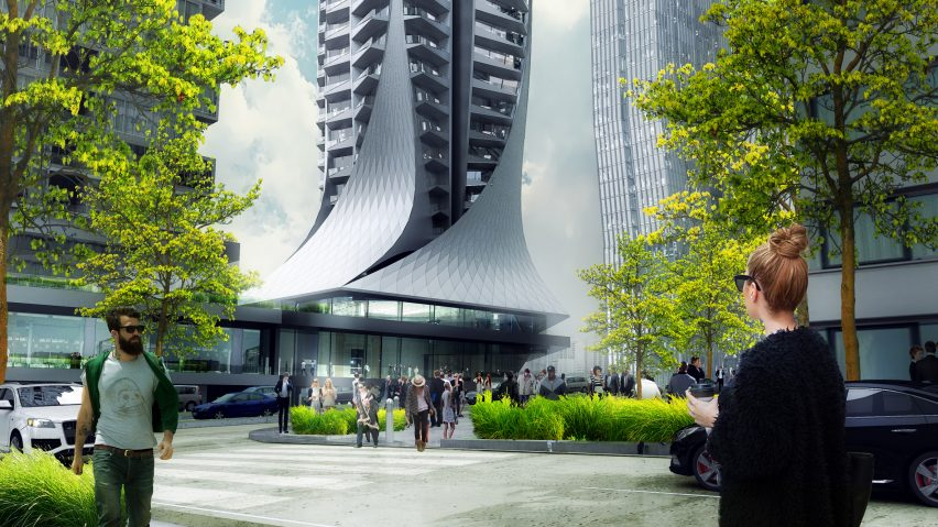 The Bora Residential Tower by ZHA
