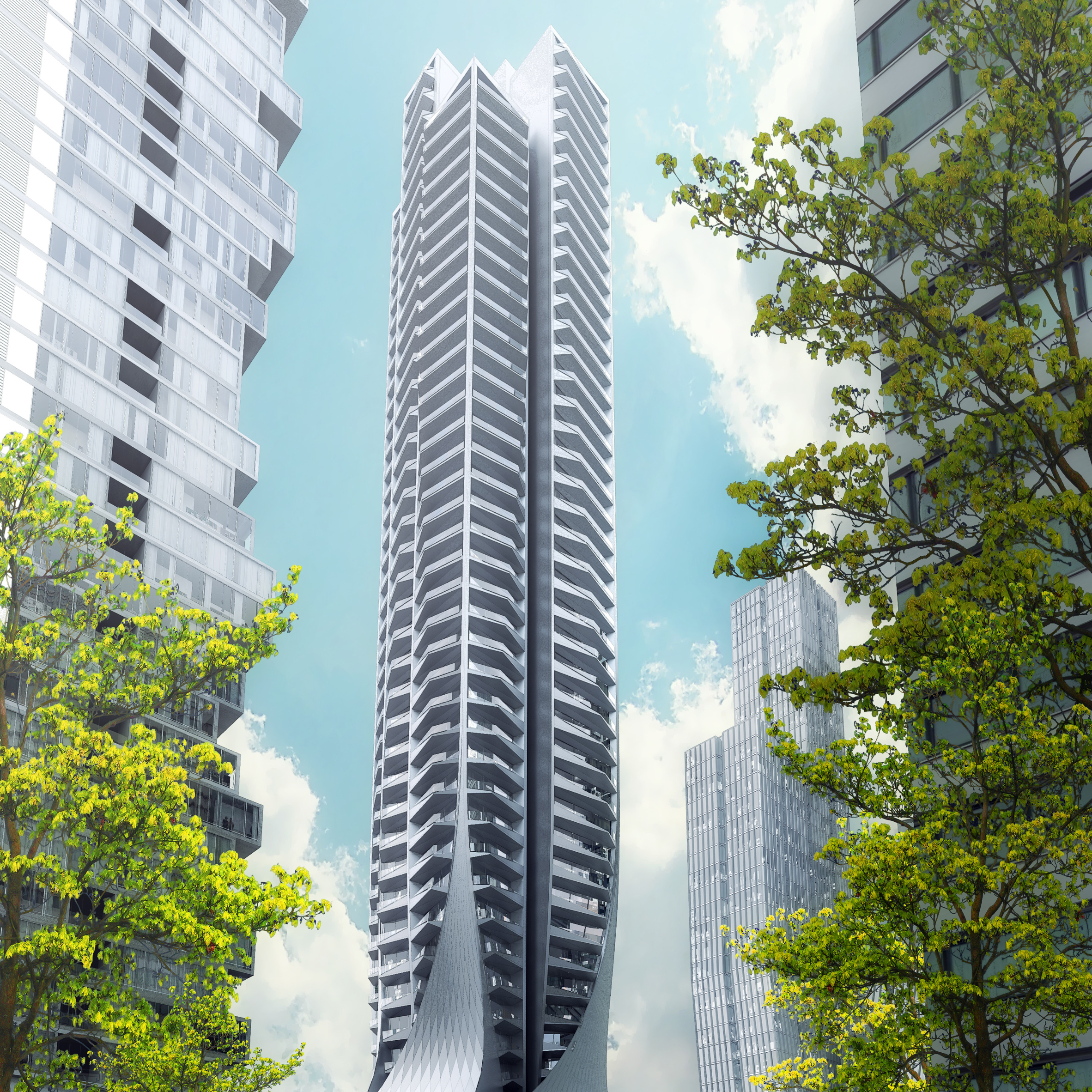Architecture and design in mexico city dezeen zaha hadid architects begins work on mexico citys highest residential tower sciox Images