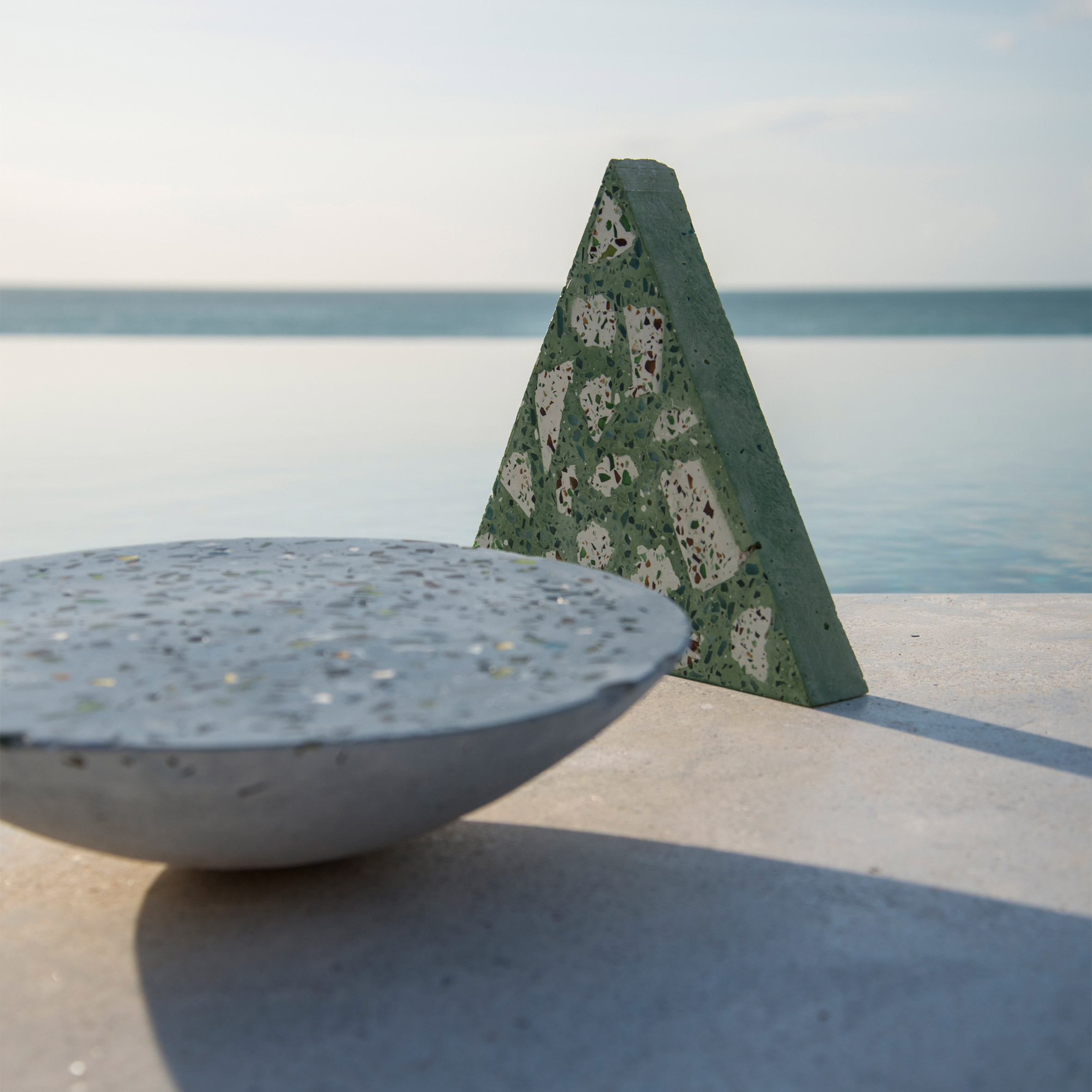 Super Local uses waste glass to produce sustainable terrazzo homeware collection