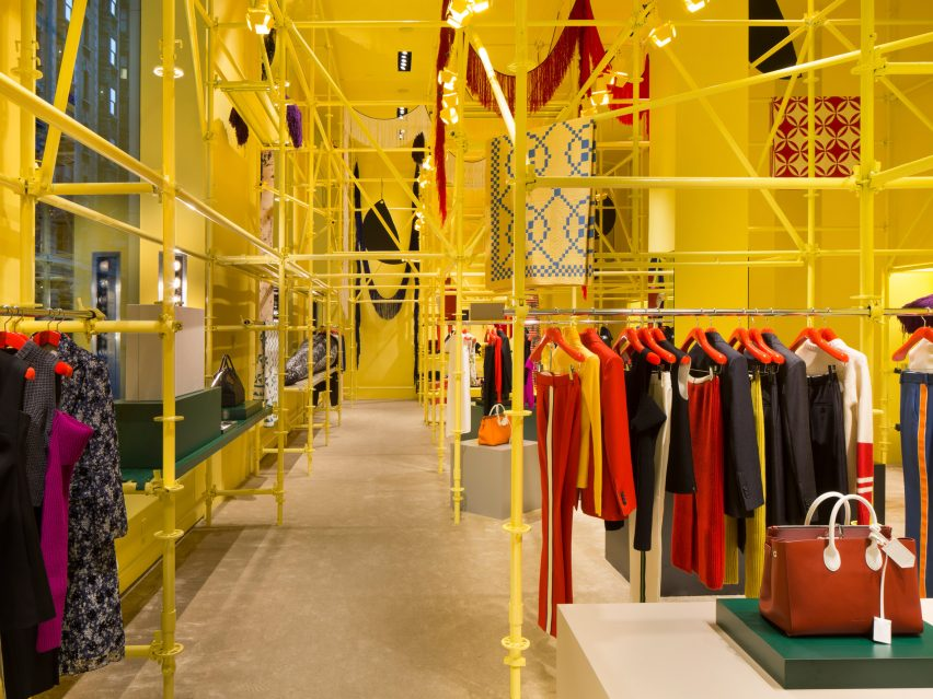 Calvin Klein store by Raf Simons and Sterling Ruby
