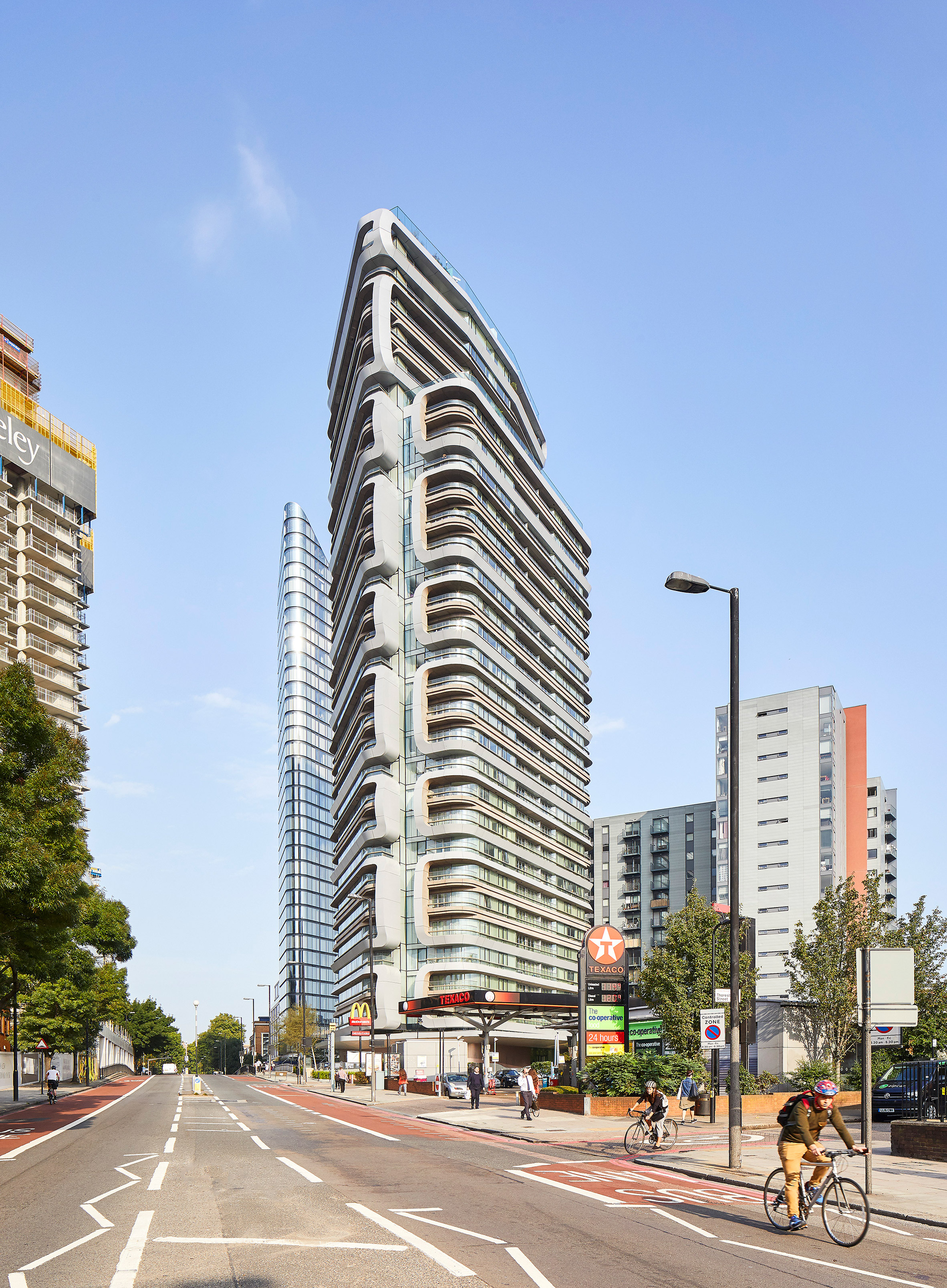 """UNStudio hopes to create """"neighbourhoods in the sky"""" with Canaletto Tower in London"""