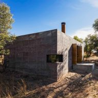 Our new Pinterest board highlights striking uses of rammed earth