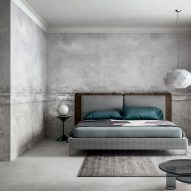 Studio Zanellato/Bortotto design wall panels that create the illusion of age for CEDIT