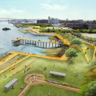 Boston responds to climate change with elevated parks and flood barriers