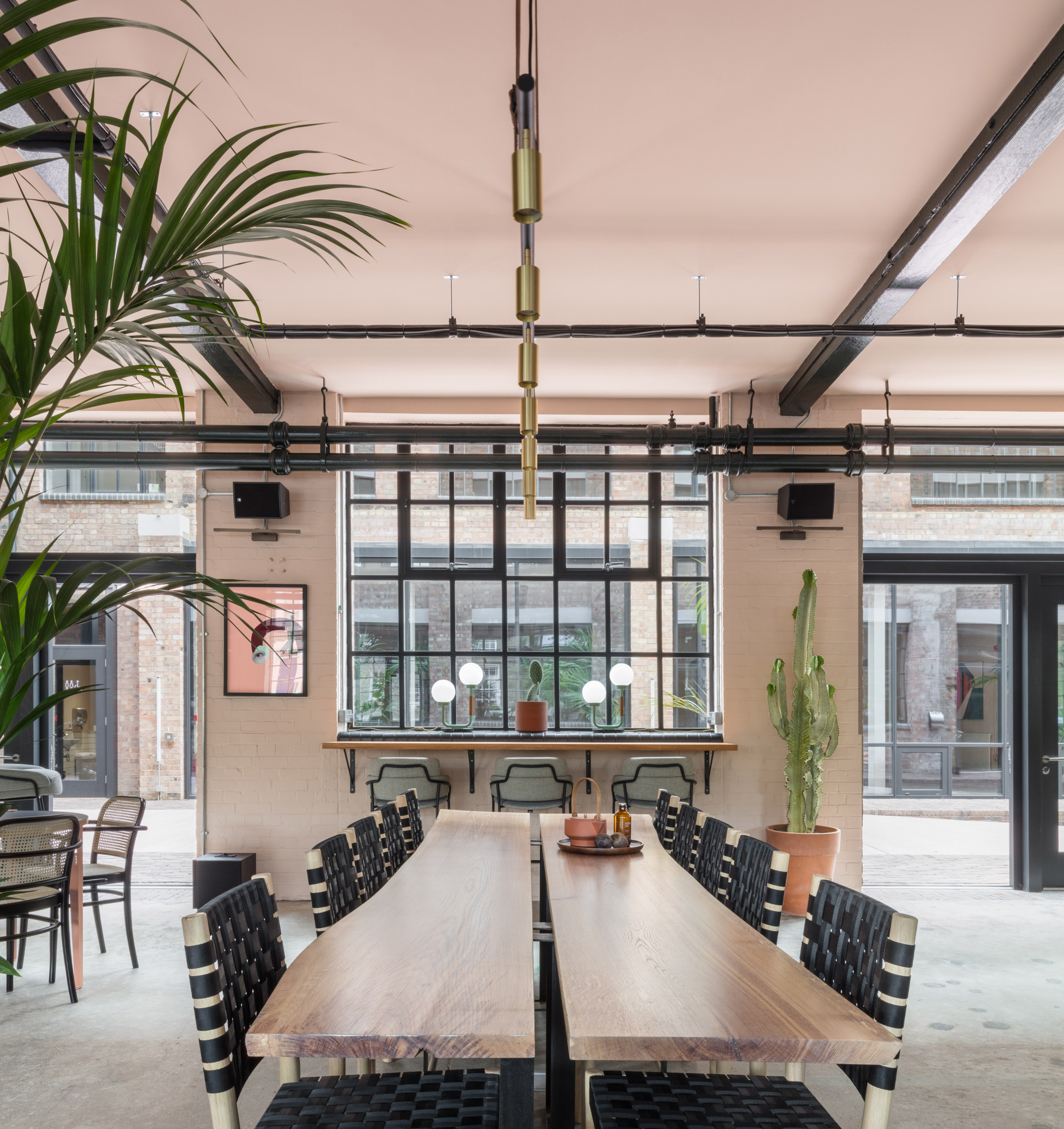 """Sella Concept applies """"cocoon of rich materials and colour"""" to interiors of east London office"""