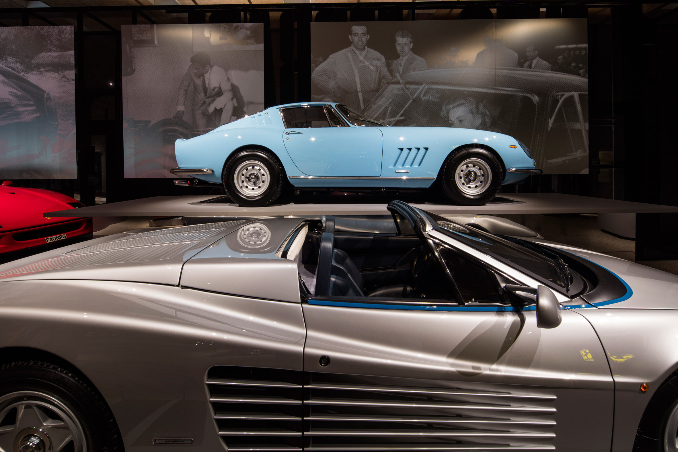 Design Museum showcases 14 rare sports cars in Ferrari retrospective
