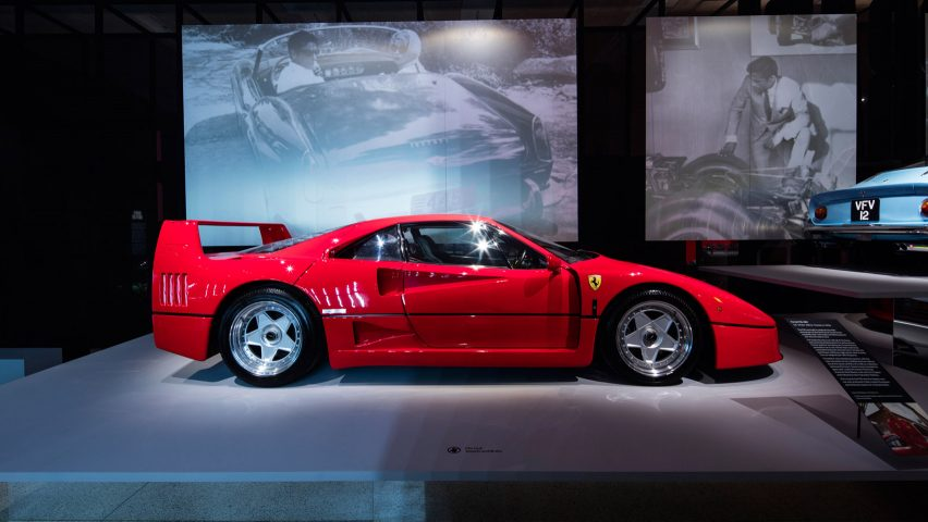 Design Museum Showcases Rare Sports Cars In Ferrari Retrospective - Exhibition car