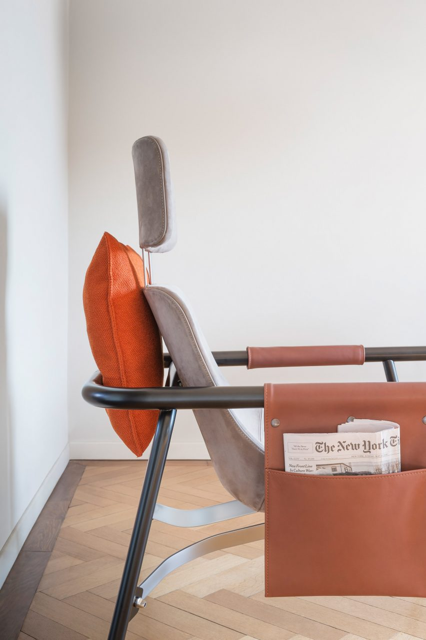 Miraculous Alain Gilles Creates Lounge Chair That References Vintage Alphanode Cool Chair Designs And Ideas Alphanodeonline