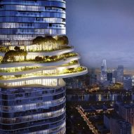 Ole Scheeren references mountain landscapes in design for Vietnam skyscraper