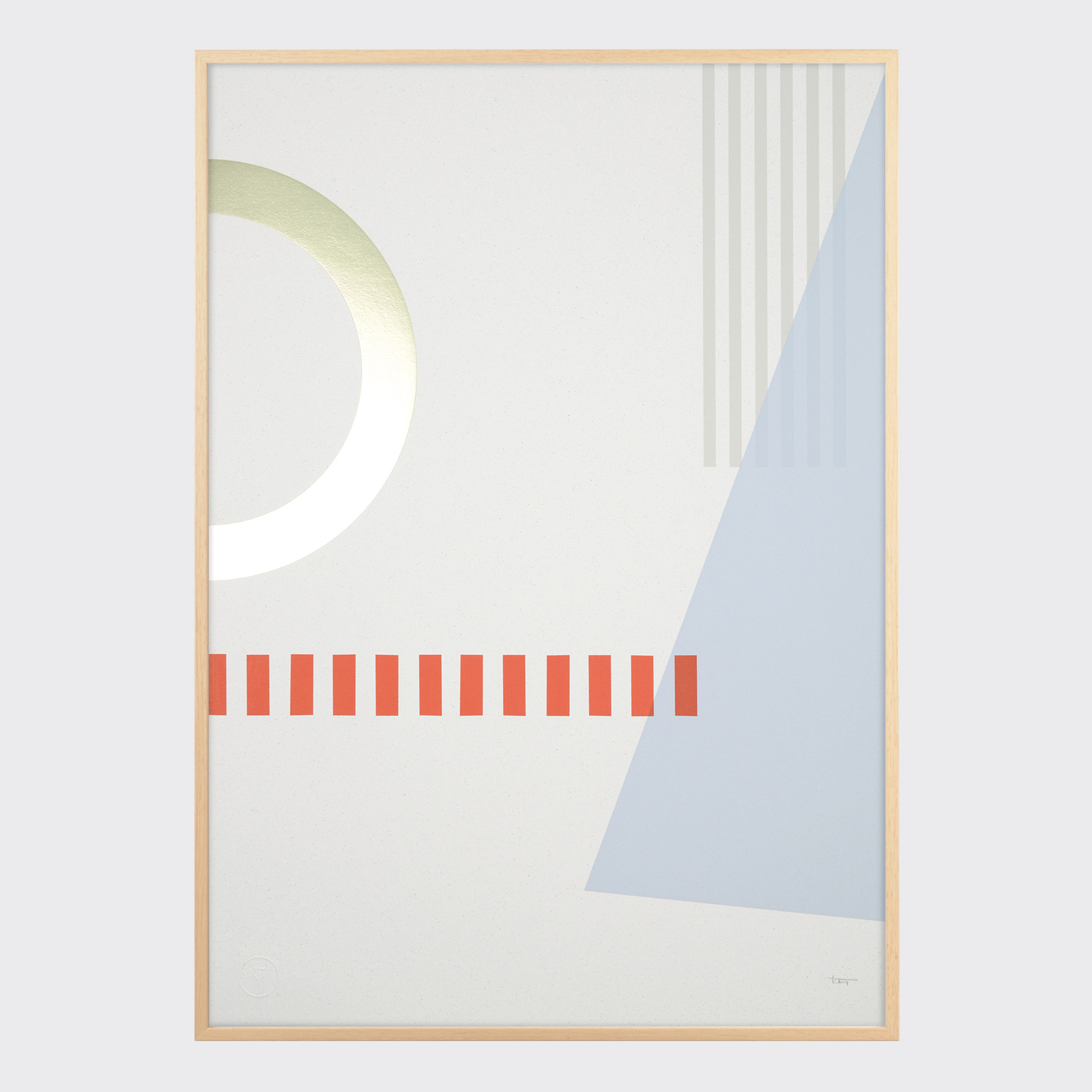 Competition: win a Tom Pigeon print triptych celebrating V&A's Exhibition Road Quarter