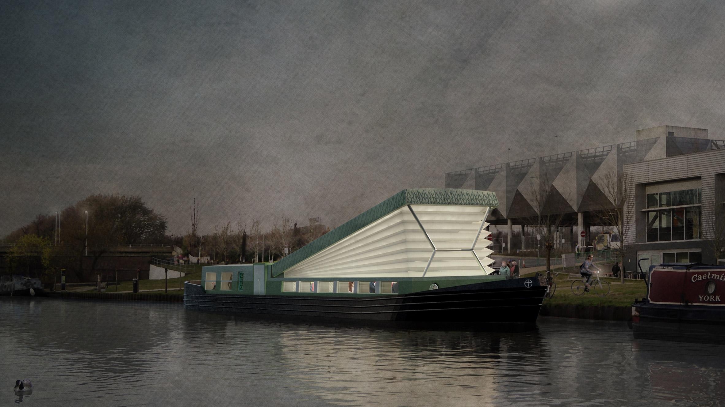Floating Watervilla Weesperzijde In Amstel River ...